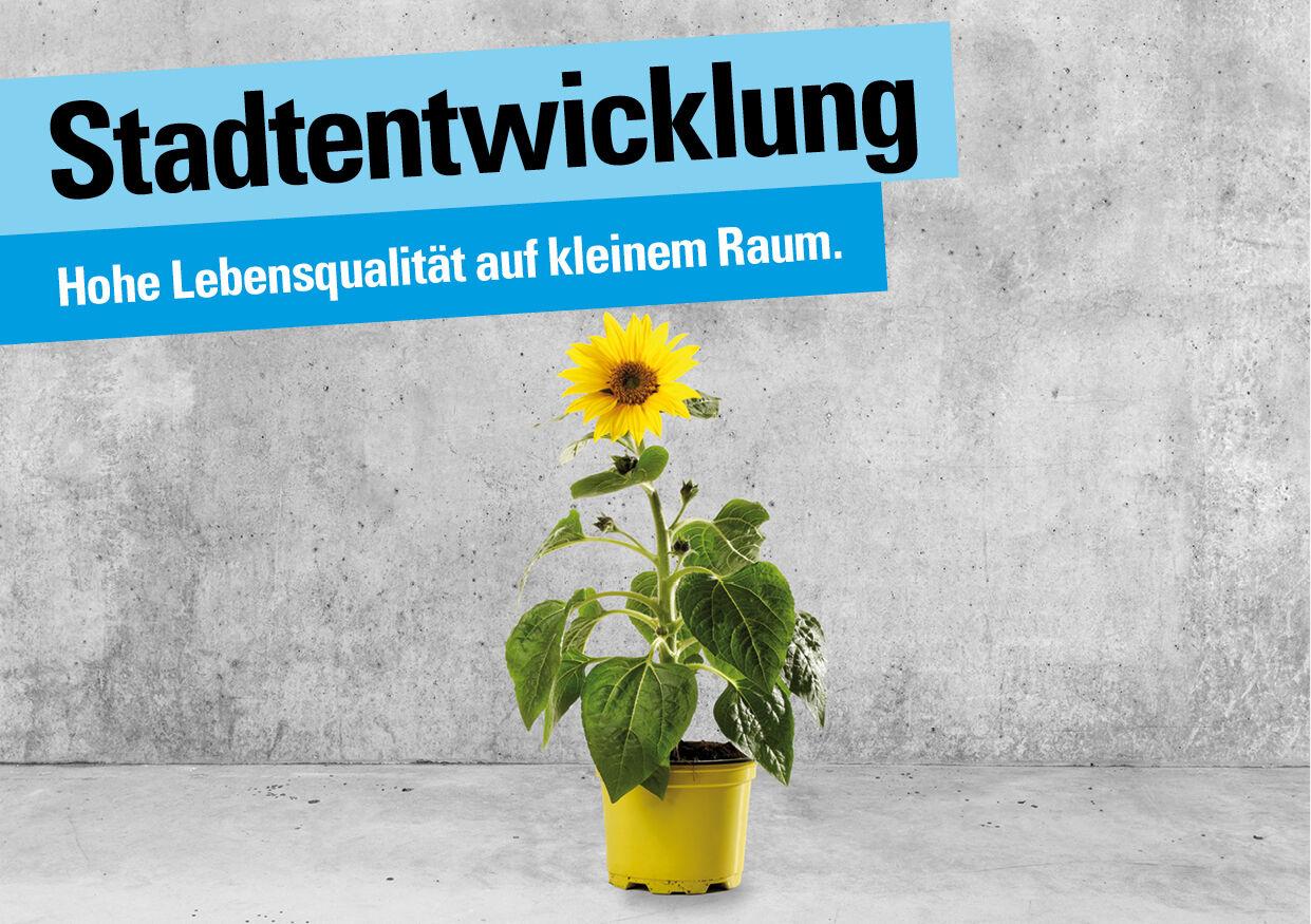 Die FDP Basel-Stadt setzt auf hohe Lebensqualität auf kleinem Raum